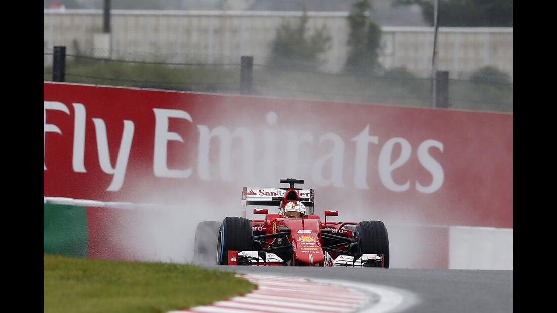 Sebastian Vettel - Ferrari - Formel 1 - GP Japan - Suzuka - 25. September 2015