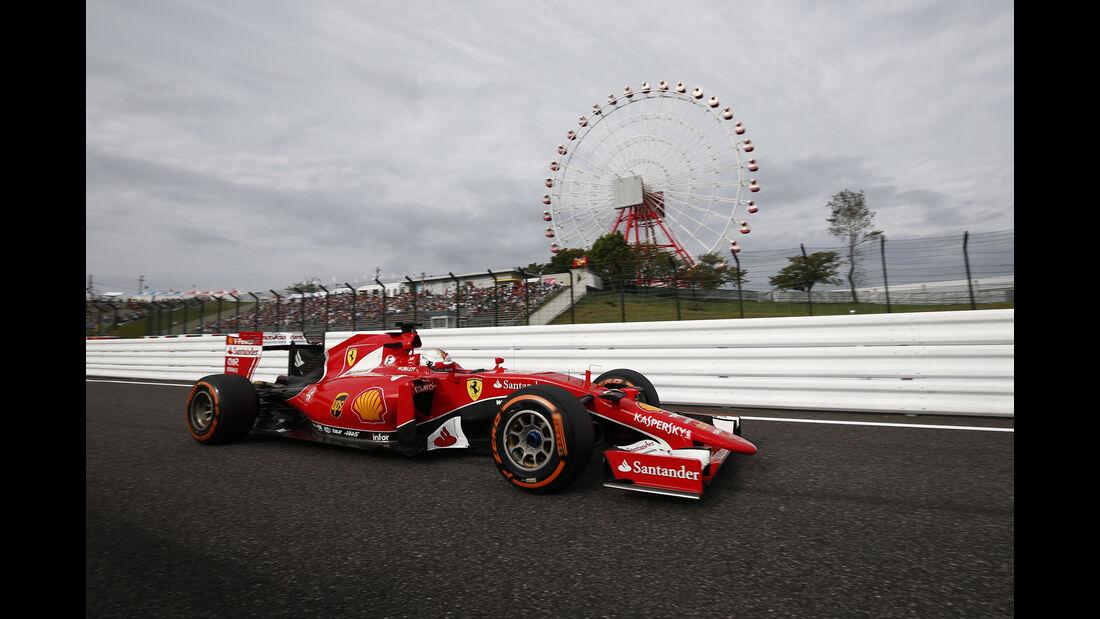 Sebastian Vettel - Ferrari - Formel 1 - GP Japan - Suzuka - 26. September 2015