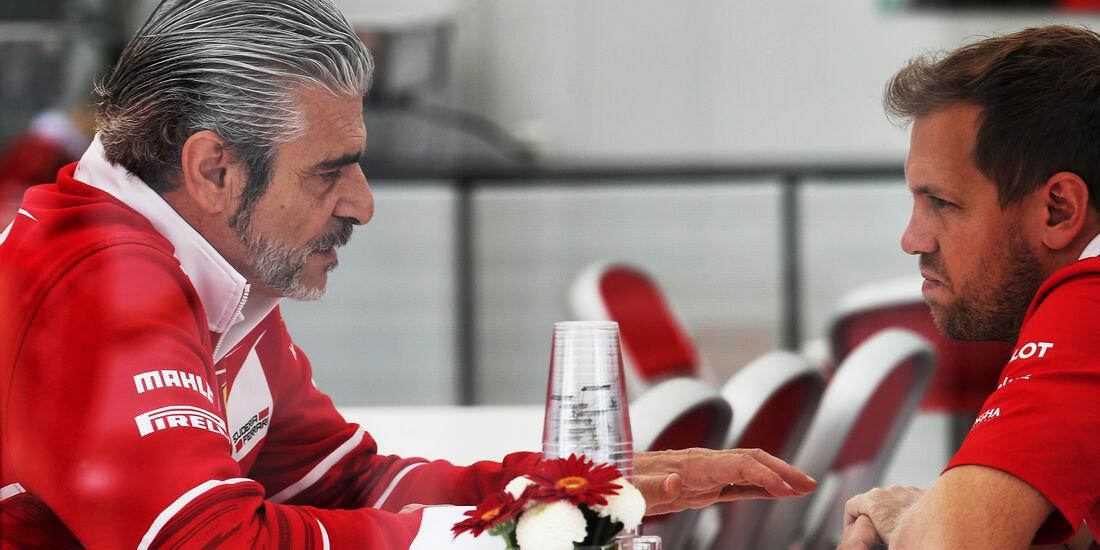 Sebastian Vettel - Ferrari - Formel 1 - GP Japan - Suzuka - 5. Oktober 2017