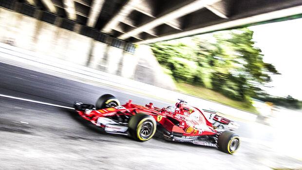Sebastian Vettel - Ferrari - Formel 1 - GP Japan - Suzuka - 6. Oktober 2017