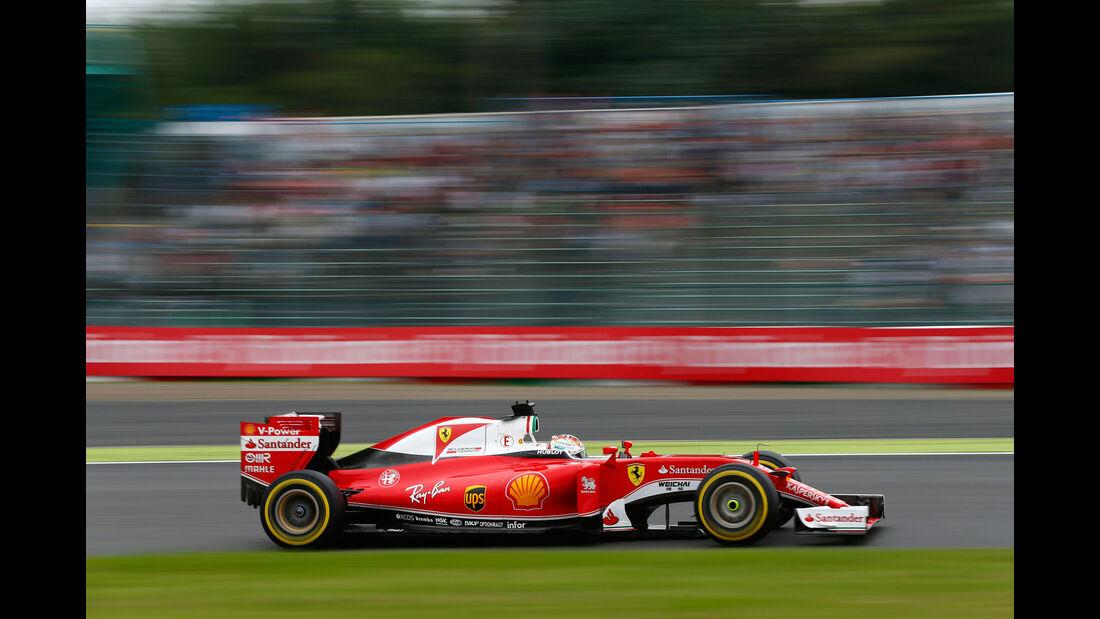 Sebastian Vettel - Ferrari - Formel 1 - GP Japan - Suzuka - Qualifying - Samstag - 8.10.2016