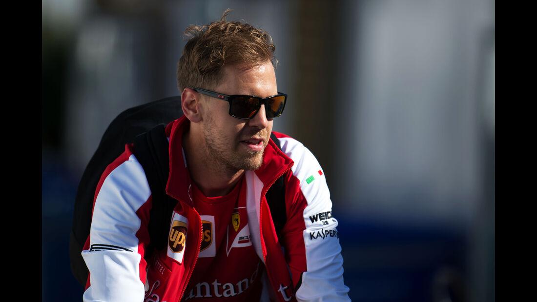 Sebastian Vettel - Ferrari - Formel 1 - GP Kanada - Montreal - 6. Juni 2015
