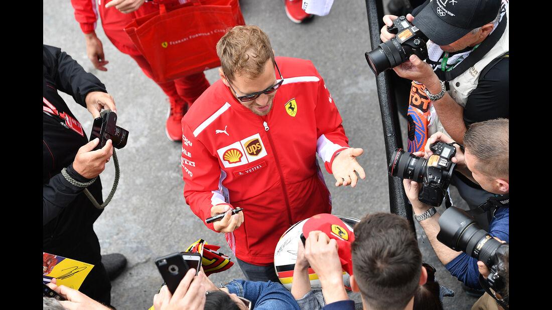 Sebastian Vettel - Ferrari - Formel 1 - GP Kanada - Montreal - 7. Juni 2018