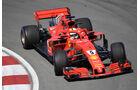 Sebastian Vettel - Ferrari - Formel 1 - GP Kanada - Montreal - 8. Juni 2018