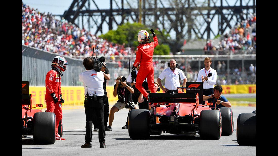 Sebastian Vettel - Ferrari - Formel 1 - GP Kanada - Montreal - 8. Juni 2019
