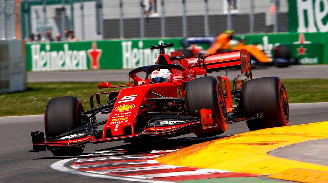 Formel 1 Qualifying Kanada