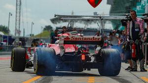 Sebastian Vettel - Ferrari - Formel 1 - GP Malaysia - Sepang - 29. September 2017