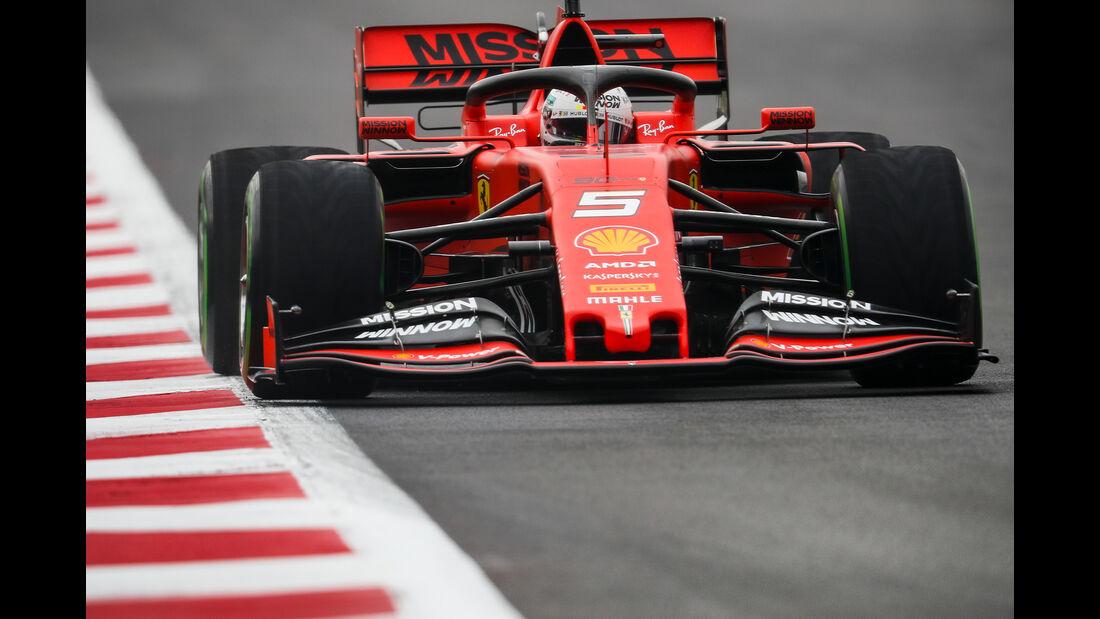 Sebastian Vettel - Ferrari - Formel 1 - GP Mexiko - 25. Oktober 2019
