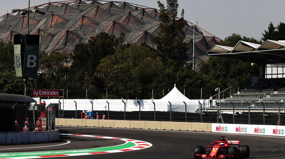 Sebastian Vettel - Ferrari  - Formel 1 - GP Mexiko - 26. Oktober 2018