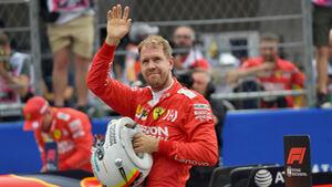 Sebastian Vettel - Ferrari - Formel 1 - GP Mexiko - 26. Oktober 2019