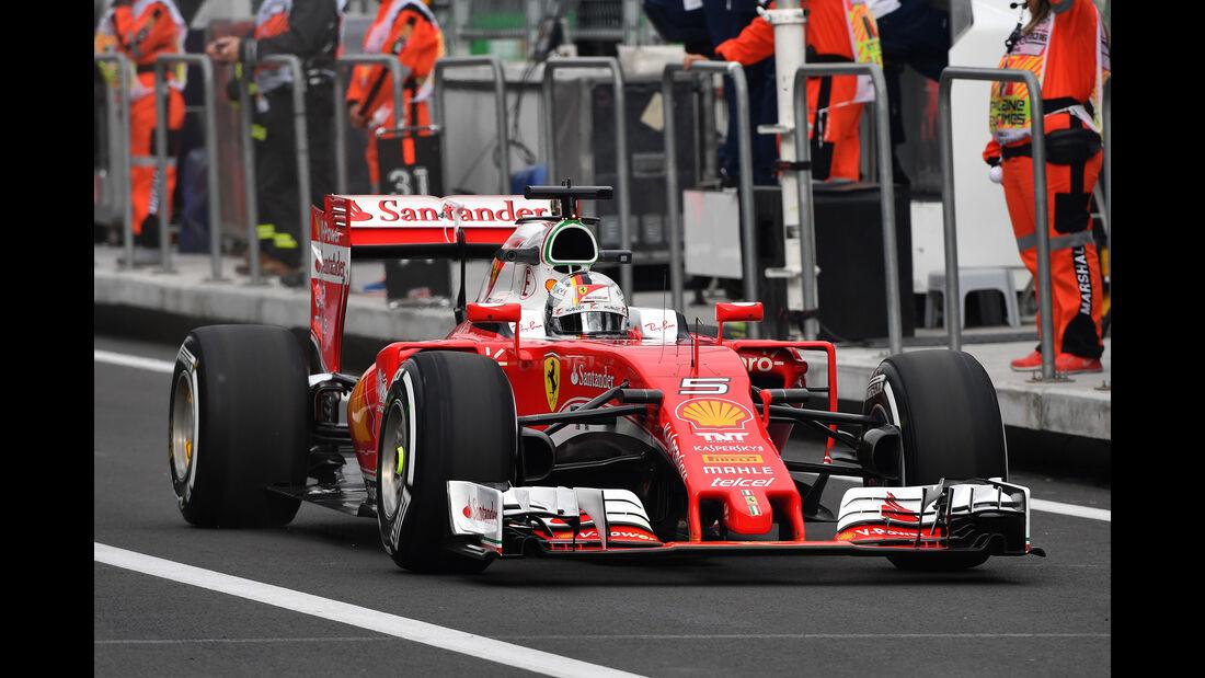 Sebastian Vettel - Ferrari - Formel 1 - GP Mexiko - 28. Oktober 2016