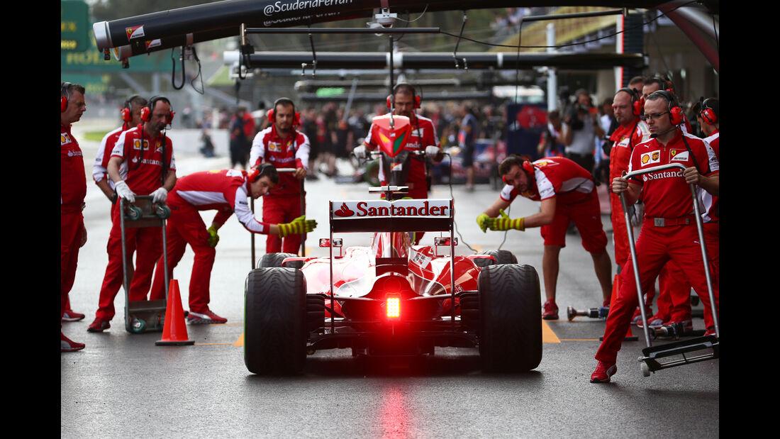 Sebastian Vettel - Ferrari - Formel 1 - GP Mexiko - 30. Oktober 2015