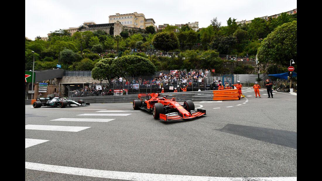 Sebastian Vettel - Ferrari - Formel 1 - GP Monaco - 23. Mai 2019