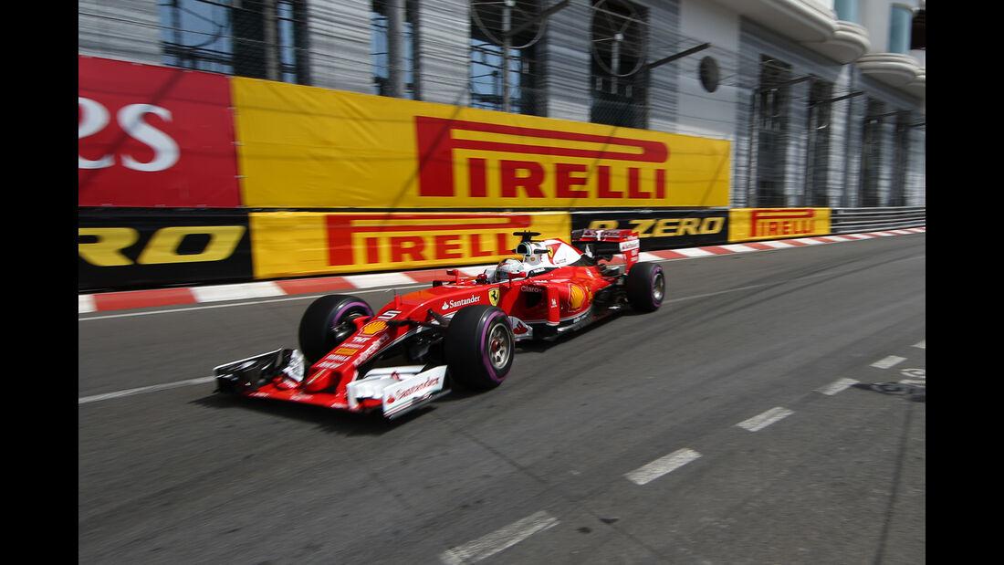 Sebastian Vettel - Ferrari - Formel 1 - GP Monaco - 26. Mai 2016