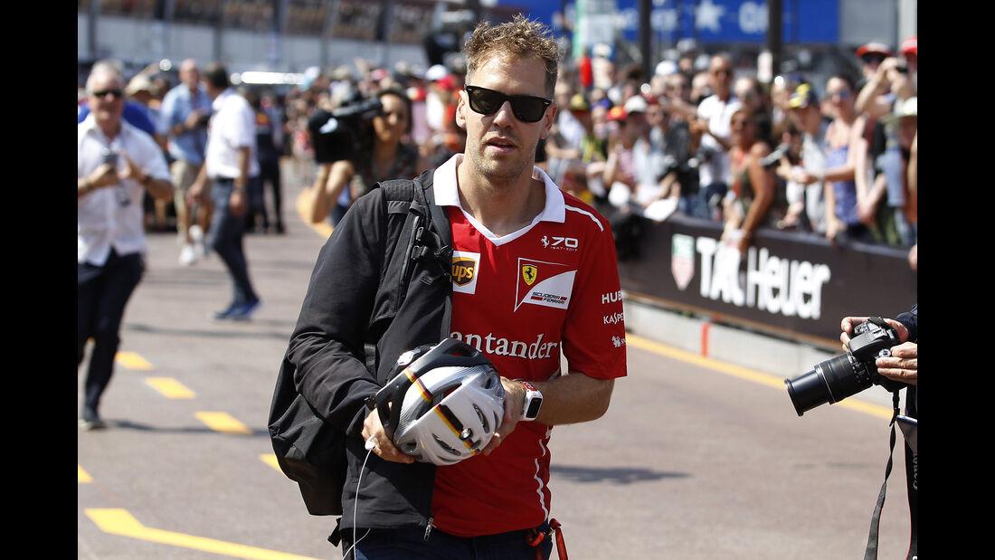 Sebastian Vettel - Ferrari - Formel 1 - GP Monaco - 26. Mai 2017