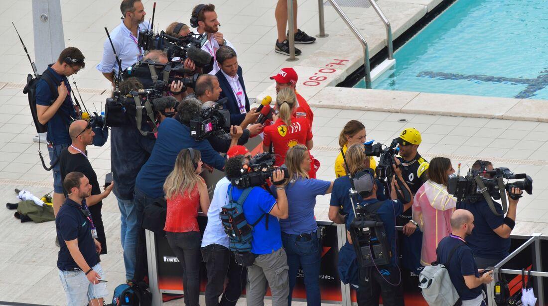 Sebastian Vettel - Ferrari - Formel 1 - GP Monaco - 26. Mai 2019