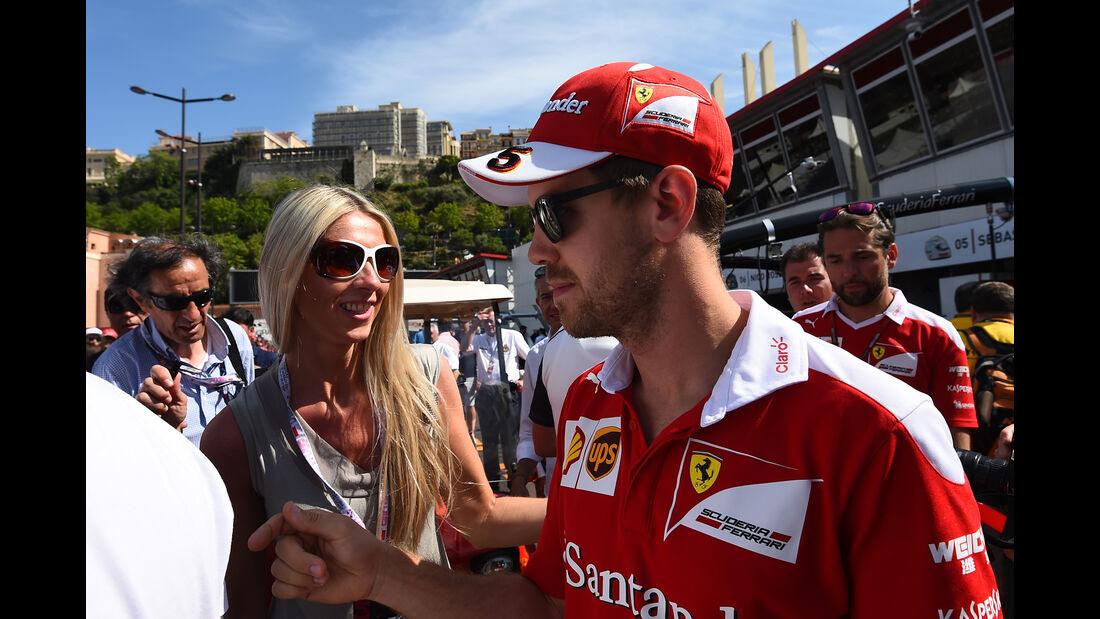 Sebastian Vettel - Ferrari - Formel 1 - GP Monaco - 27. Mai 2016