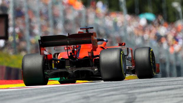 Sebastian Vettel - Ferrari - Formel 1 - GP Östereich - Spielberg - 28. Juni 2019