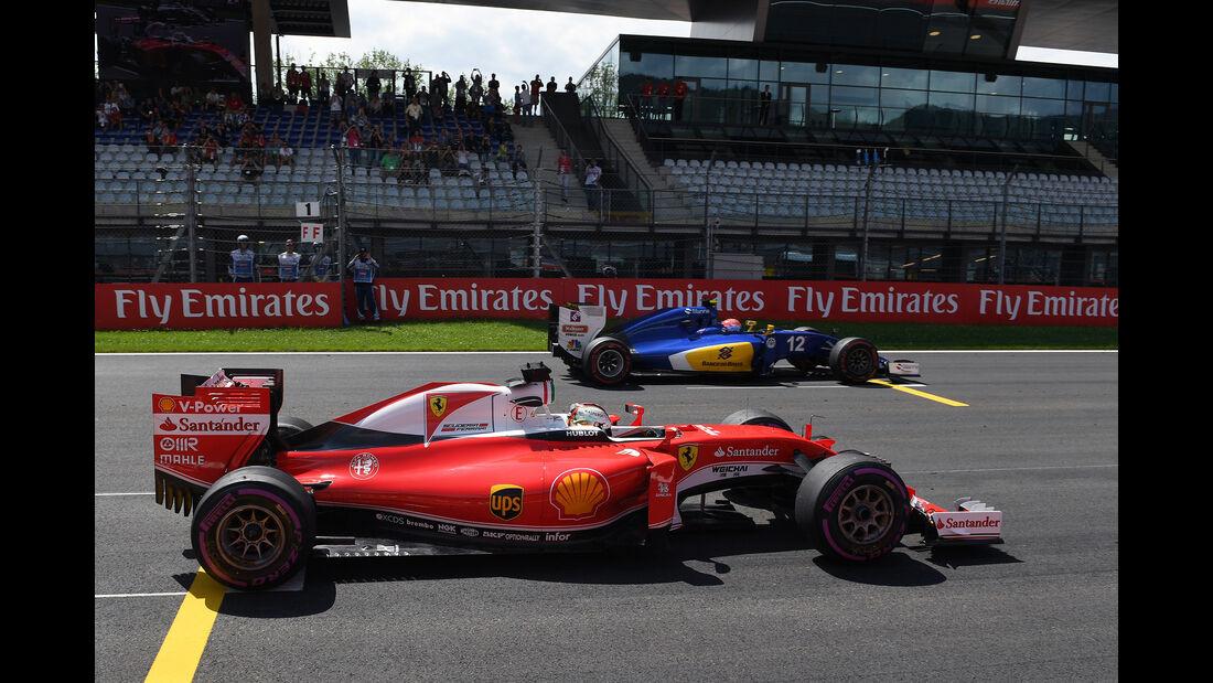 Sebastian Vettel - Ferrari - Formel 1 - GP Österreich - 1. Juli 2016