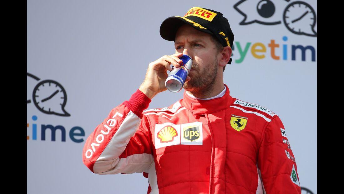 Sebastian Vettel - Ferrari - Formel 1 - GP Österreich - 1. Juli 2018