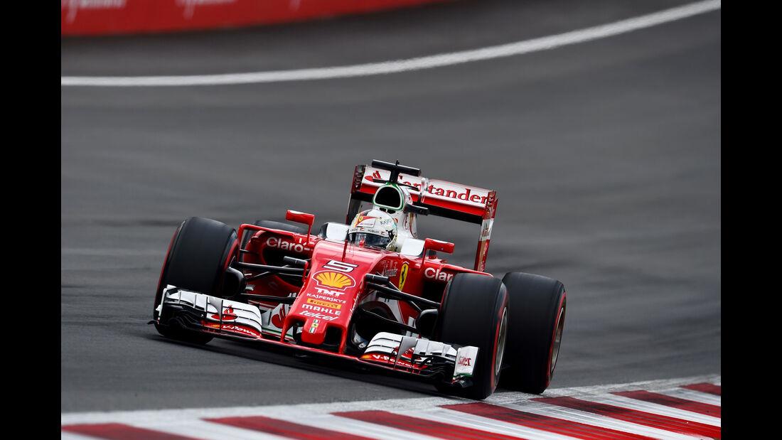 Sebastian Vettel - Ferrari  - Formel 1 - GP Österreich - 2. Juli 2016