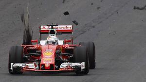 Sebastian Vettel - Ferrari - Formel 1 - GP Österreich - 3. Juli 2016