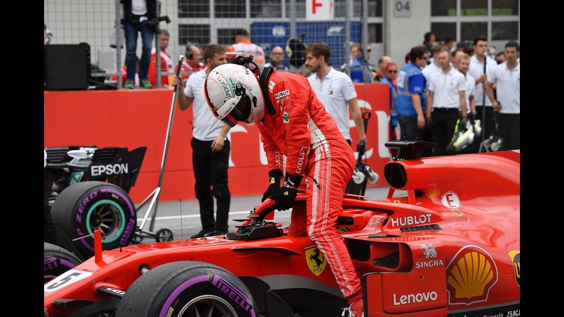 Sebastian Vettel - Ferrari - Formel 1 - GP Österreich - 30. Juni 2018