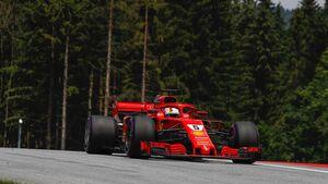 Sebastian Vettel - Ferrari - Formel 1- GP Österreich - 30. Juni 2018