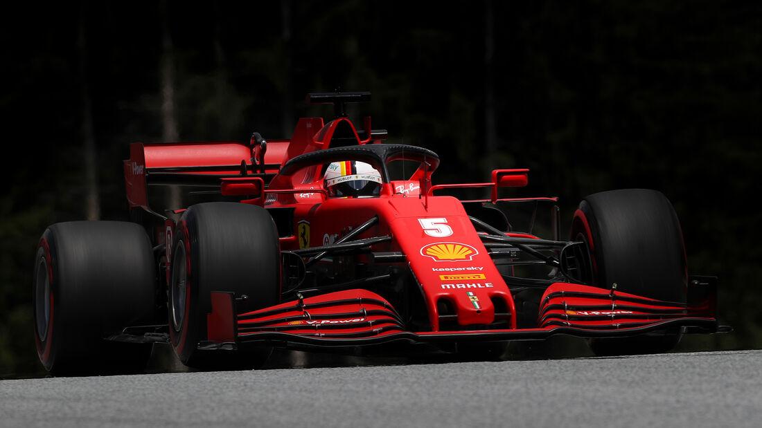 Sebastian Vettel - Ferrari - Formel 1 - GP Österreich - 4. Juli 2020