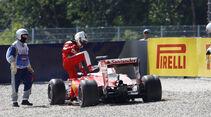 Sebastian Vettel - Ferrari - Formel 1 - GP Österreich - Spielberg - 1. Juli 2016