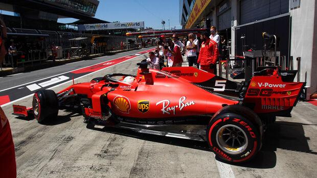 Sebastian Vettel - Ferrari - Formel 1 - GP Österreich - Spielberg - 29. Juni 2019