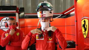 Sebastian Vettel - Ferrari - Formel 1 - GP Portugal - Portimao - 24. Oktober 2020