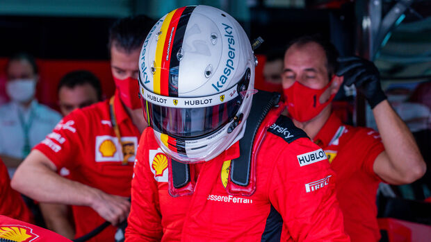 Sebastian Vettel - Ferrari - Formel 1 - GP Russland - Sotschi - 26. September 2020