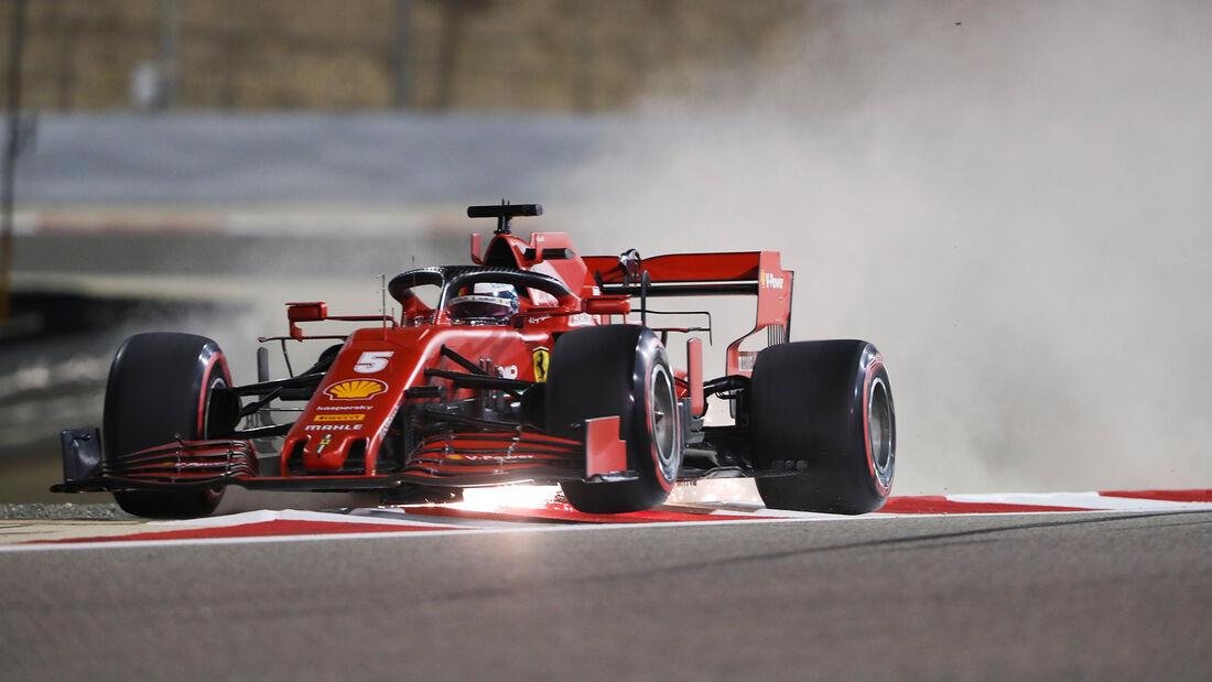 Sebastian Vettel - Ferrari - Formel 1 - GP Sakhir - Bahrain - Freitag - 4.12.2020