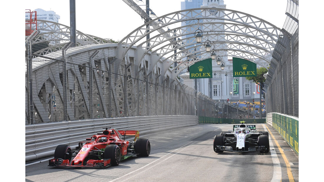 Sebastian Vettel - Ferrari - Formel 1 - GP Singapur - 14. September 2018