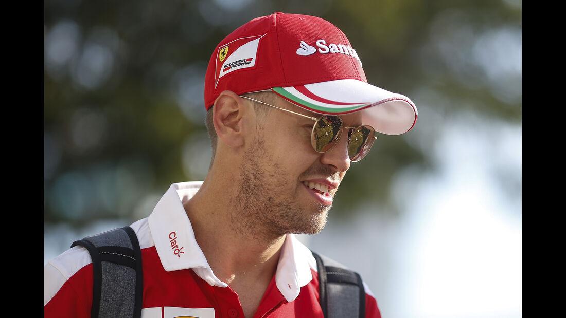 Sebastian Vettel - Ferrari - Formel 1 - GP Singapur - 15. September 2016