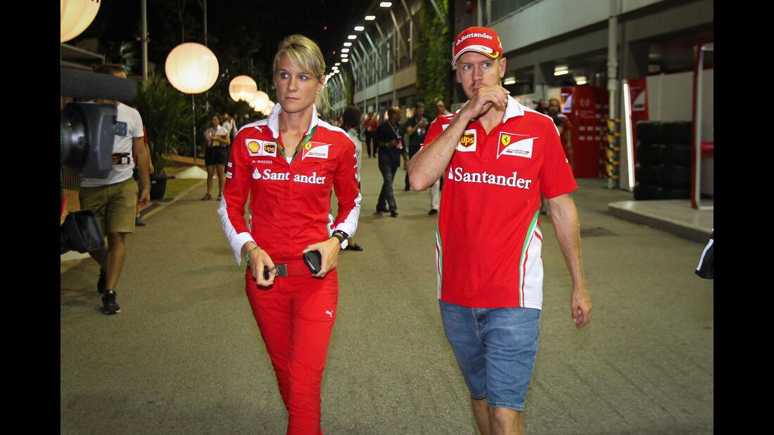 Sebastian Vettel - Ferrari - Formel 1 - GP Singapur - 17. September 2016