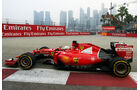 Sebastian Vettel - Ferrari - Formel 1 - GP Singapur - 18. September 2015