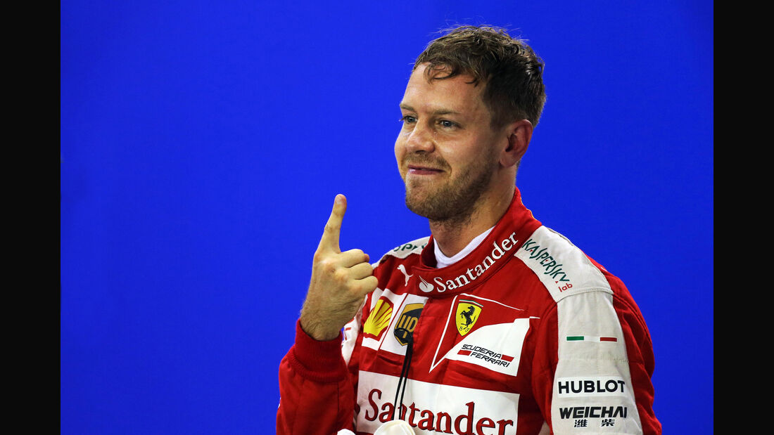 Sebastian Vettel - Ferrari - Formel 1 - GP Singapur - 20. September 2015