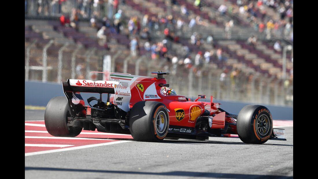 Sebastian Vettel - Ferrari - Formel 1 - GP Spanien - 12. Mai 2017