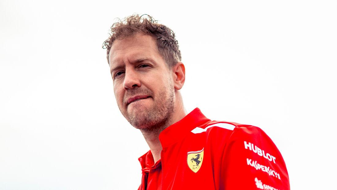 Sebastian Vettel - Ferrari - Formel 1 - GP Spanien - Barcelona - 10. Mai 2018
