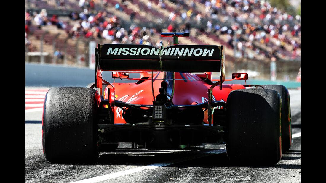Sebastian Vettel - Ferrari - Formel 1 - GP Spanien - Barcelona - 10. Mai 2019