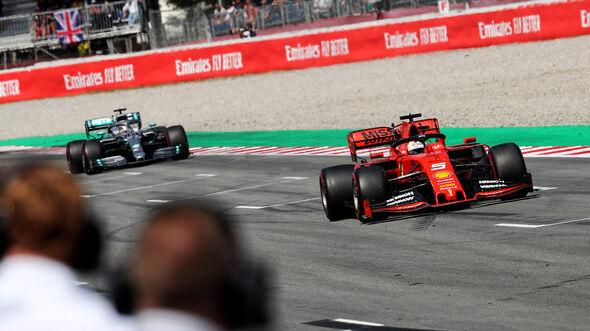 Sebastian Vettel - Ferrari - Formel 1 - GP Spanien - Barcelona - 11. Mai 2019