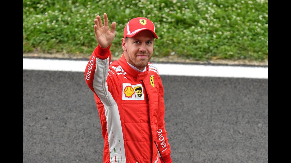 Sebastian Vettel - Ferrari - Formel 1 - GP Spanien - Barcelona - 12. Mai 2018