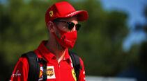 Sebastian Vettel - Ferrari - Formel 1 - GP Spanien - Barcelona - Donnerstag - 13. August 2020