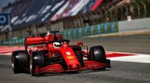 Sebastian Vettel - Ferrari - Formel 1 - GP Spanien - Barcelona - Qualifying - Samstag - 15. August 2020