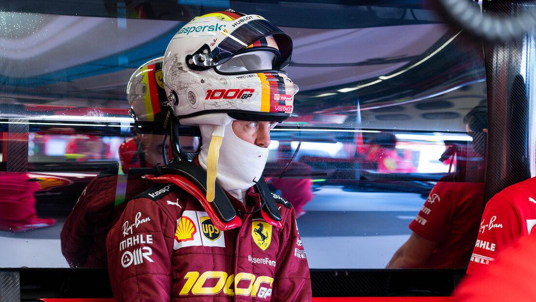 Sebastian Vettel - Ferrari - Formel 1 - GP Toskana - Mugello - 2020