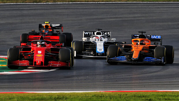 Sebastian Vettel - Ferrari - Formel 1 - GP Türkei - Istanbul - Freitag - 13.11.2020