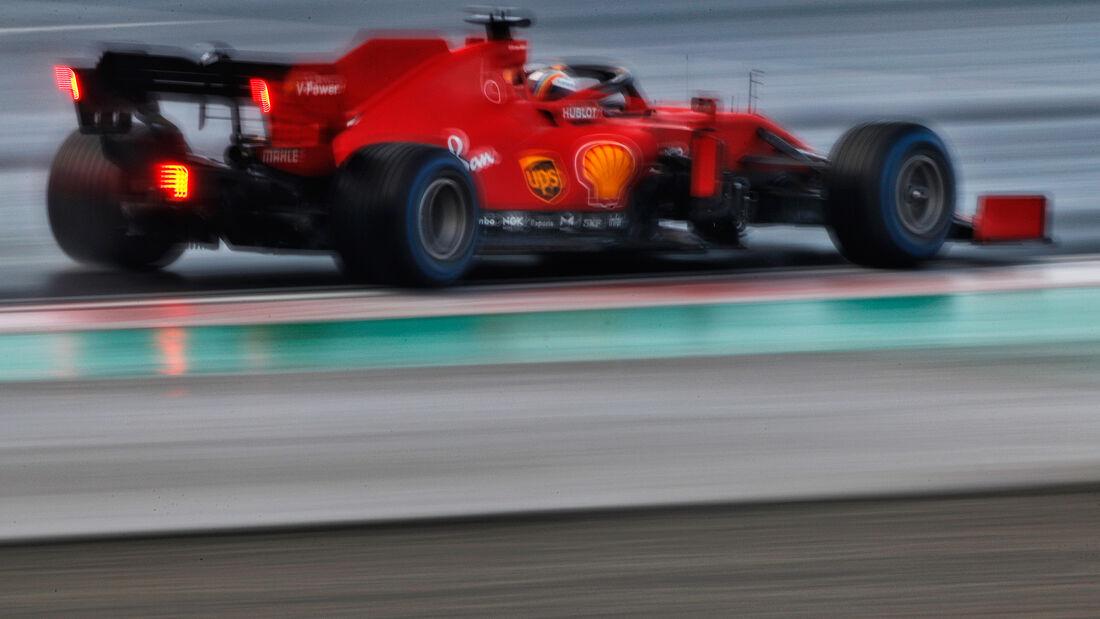 Sebastian Vettel - Ferrari - Formel 1 - GP Türkei - Istanbul - Samstag - 14.11.2020