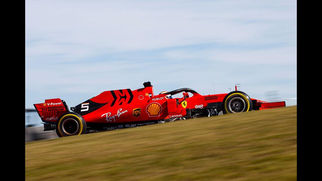 Sebastian Vettel - Ferrari - Formel 1 - GP USA - Austin - 1. November 2019